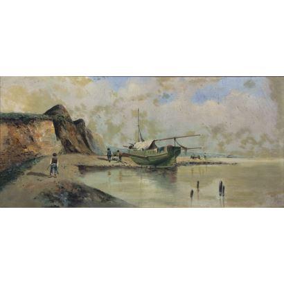 Pintura del siglo XX. EMILIO ÁLVAREZ AYLLÓN (Granada, 1899- 1972)