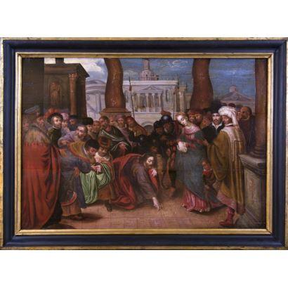 Pintura de Alta Época. Escuela flamenca, S. XVII.