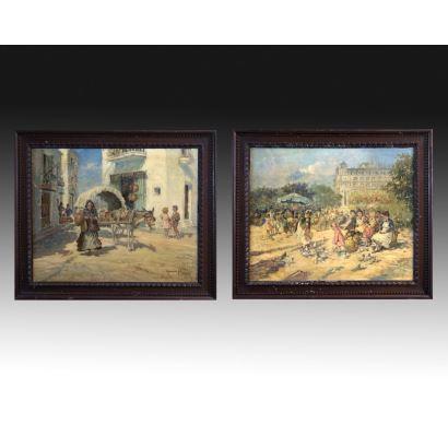 Pintura del siglo XX. Ignasi Gil i Sala (Barcelona 1913 – 2003)