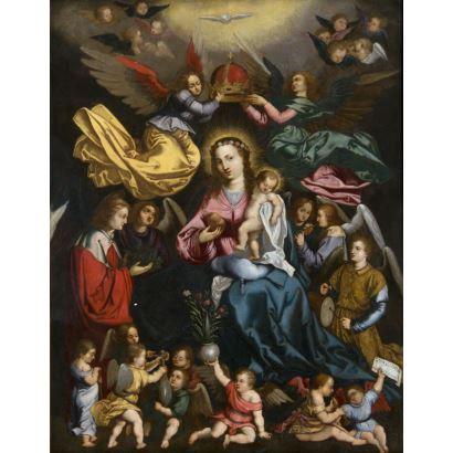 Pintura de Alta Época. Escuela flamenca, pps. siglo XVII.