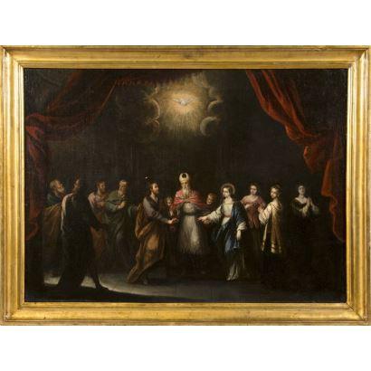 Atribuido a Francisco Antolínez y Sarabia (Sevilla h. 1645 - 1700)