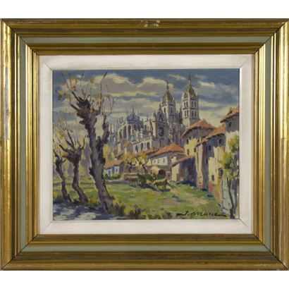 Pintura del siglo XX. JOAN MARCÉ MARTÍ, (BARCELONA, 1899 -1975).