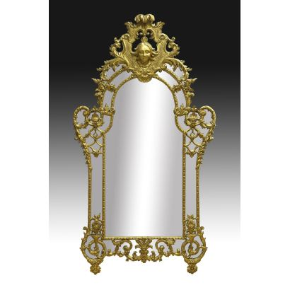 Spanish mirror, 19th century.