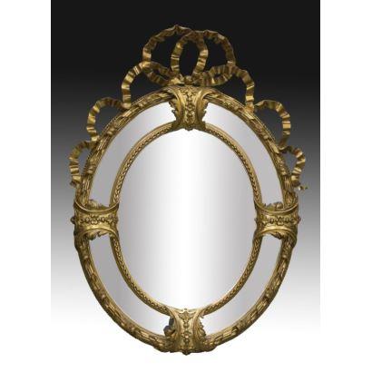Espejo estilo Carlos IV, S. XIX.