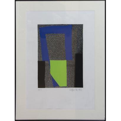 Obra Gráfica. JOAQUÍN VAQUERO TURCIOS (MADRID 1933-SANTANDER 2010).