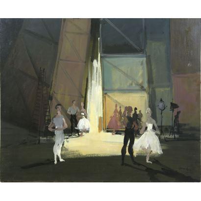 Pintura del siglo XX. LANCELOT, MONIQUE (1923 - 1982)
