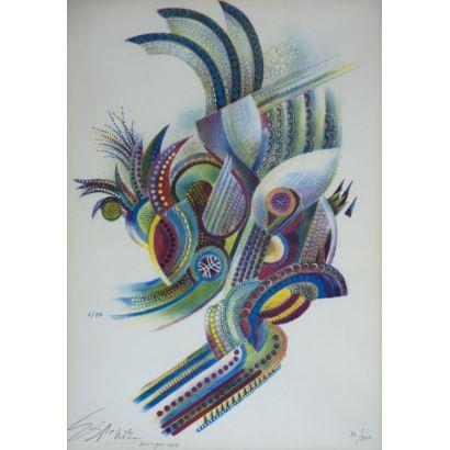 Obra Gráfica. Francisco Espinoza Dueñas (Lima, 1926).