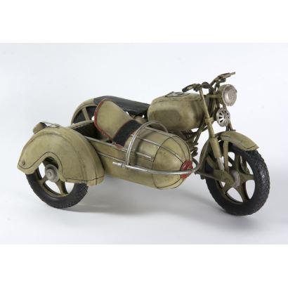 Moto con sidecar, S.XX.