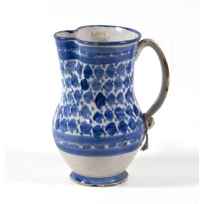 Ceramic jug, S. XIX.