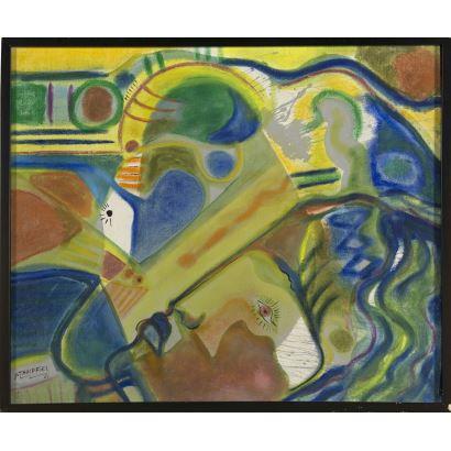 20th century painting. IVÁN STANFFIEL (1947)