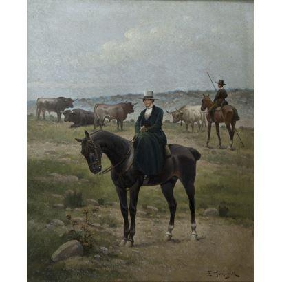 ENRIQUE GÓMEZ MARTÍN (Esc. Española, S. XIX)