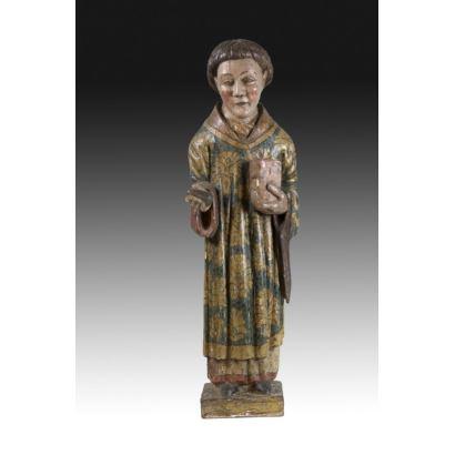Sculpture. Gothic sculpture, 14th century.