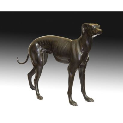 Bronze. According to Art Deco models.