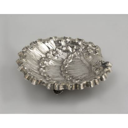 Plata. Venera de plata. España,  S. XX.