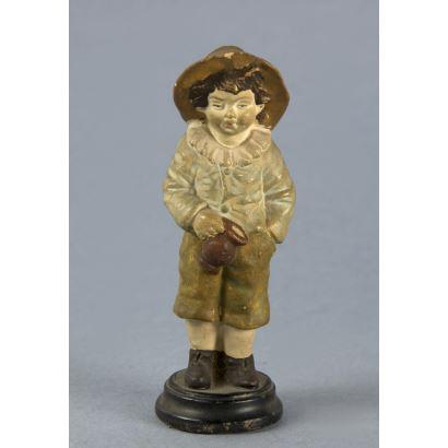 Ceramic figure, end. S. XIX- pp. S. XX.