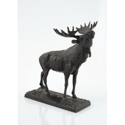 Escultura en bronce española, siglo XX.
