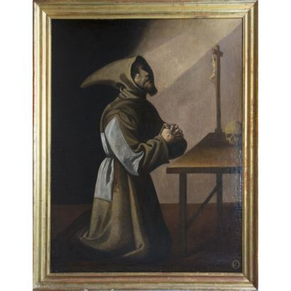 Old Masters. Workshop of Francisco de Zurbarán (Fuente de Cantos, Badajoz, 1598 - Madrid, 1664)