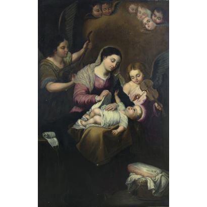 Pintura de Alta Época. ANÓNIMO, S.XVII-XVIII.