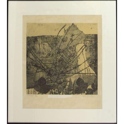 Obra Gráfica. María Asunción Raventós de Oscariz (San Sadurni de Noya, Barcelona, 1930).