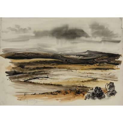 Dibujo. RAFAEL REQUENA REQUENA (CAUDETE, ALBACETE 1932 - MADRID, 2003).