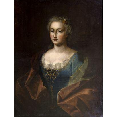 Siguiendo modelos de HYACINTHE RIGAUD (Perpiñán, 1659 – París, 1743)