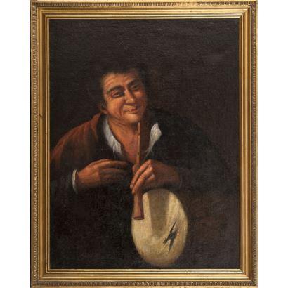 Pintura de Alta Época. Escuela Napolitana, S. XVII.