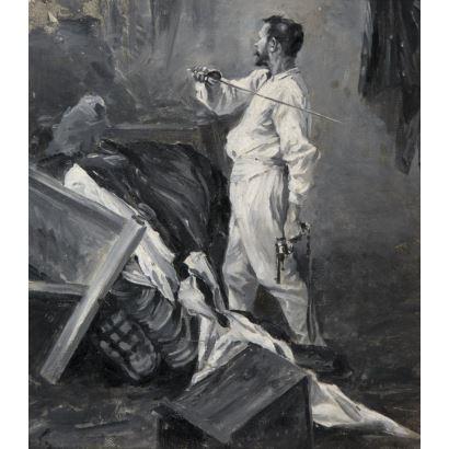 Eduardo Banda y Pineda (Alar del Rey, Palencia, 1857 – 1929).
