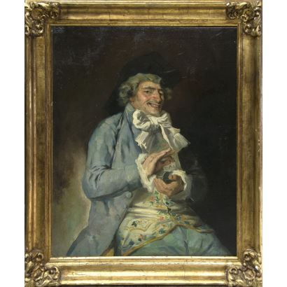 Pintura del siglo XIX. JOSÉ DENIS BELGRANO (Málaga, 1844 - Málaga, 1917)
