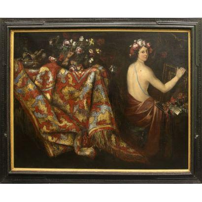 Pintura de Alta Época. Escuela italiana, S. XVII.