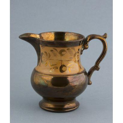 Jarra en cerámica Bristol, ffs. S. XIX.
