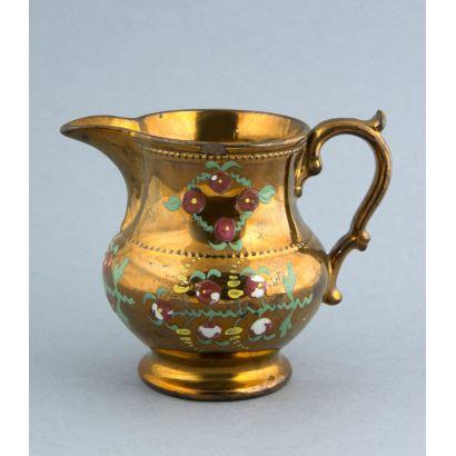 Bristol ceramic jug, ffs. S. XIX.