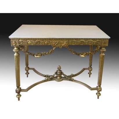 Mesa de estilo Luis XVI, S. XIX