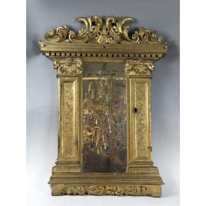 Espejo francés, siglo XVII y posterior.