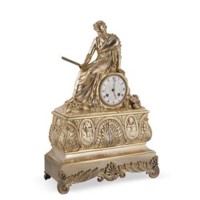 Table clock, France, 19th century