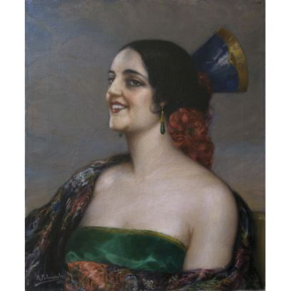 RAMÓN PALMAROLA ROMEU (Barcelona, 1877 - 1954).
