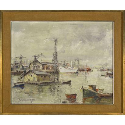 JUAN BENITO OLIVARES BALENCIAGA (Bilbao 1909).
