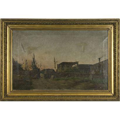 LLUÍS RÀFOLS OLIVELLA (Vilafranca del Penedés, activo en la segunda mitad del siglo XIX)