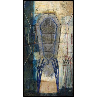 Pintura del siglo XX. DORA SALAZAR (Alsasua, Navarra, 1963).