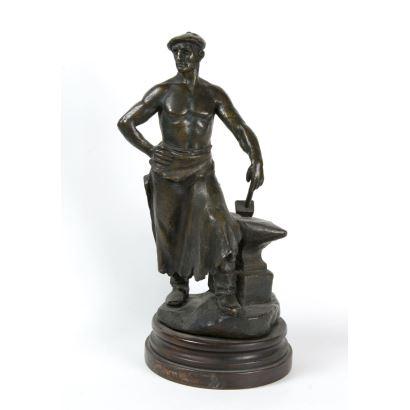 Escultura en bronce, S.XIX.