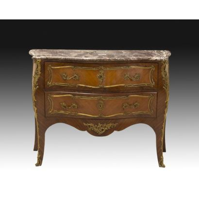 Comfortable bombshell style Louis XV, France, 19th century.