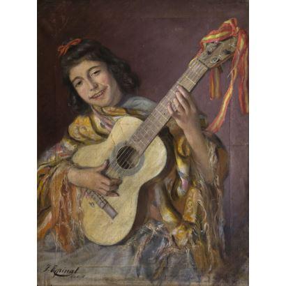 JACINTO ESPINAL ALTERACHS  (Barcelona, circa 1875 - activo en 1905)