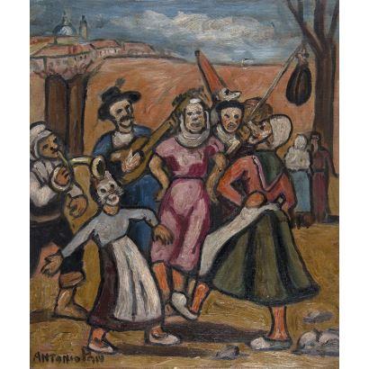ANTONIO PAN PEREA (Sevilla, 1937 - 2001).