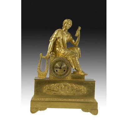 Table clock, Empire style, France S. XIX.