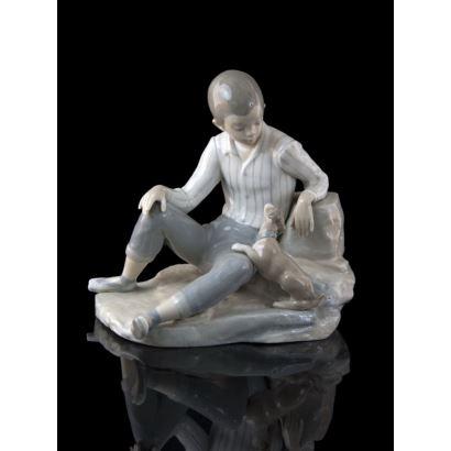 Porcelana. Conjunto en porcelana de Lladró.