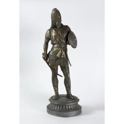 Figura de guerrero, S. XlX