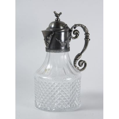 Glass jug, S. XlX