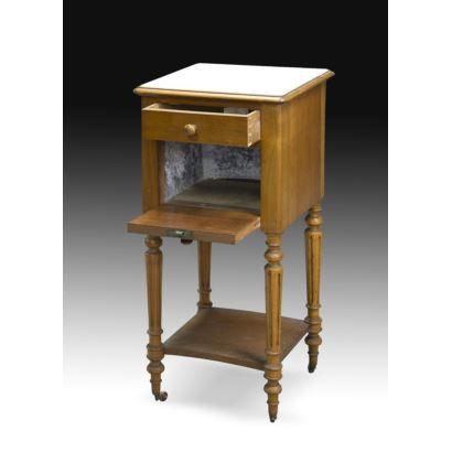Bedside table Louis XVI, S. XX.
