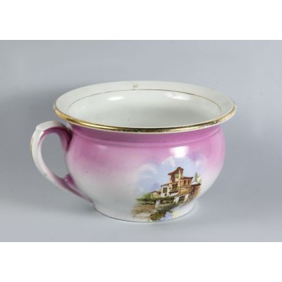 Cerámica. Orinal en cerámica, años 30.