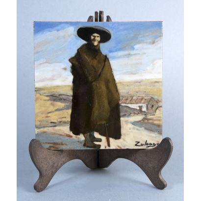 DANIEL ZULOAGA  (Madrid 1852 - Segovia 1921).