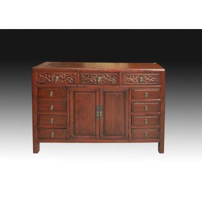 Muebles. Aparador oriental, S. XX.